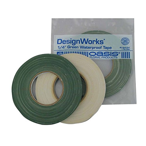 Oasis 1/4″x60yd Green Waterproof Tape