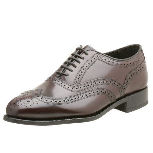 Mens Burgundy Oxfords - Florsheim Men's Lexington Wingtip Oxford,Burgundy,10 D US