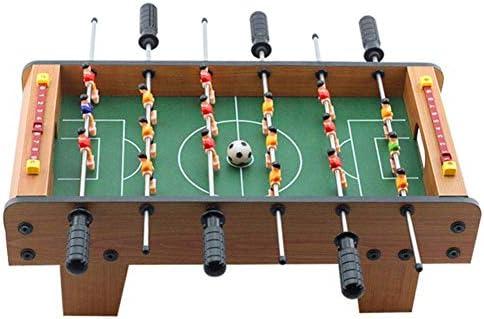Mini Mesa de Madera de futbolín, Juego de fútbol Sala de Juegos electrónicos Competencia Deportiva Juego Familiar, Juego de fútbol para Interiores y Exteriores: Amazon.es: Hogar