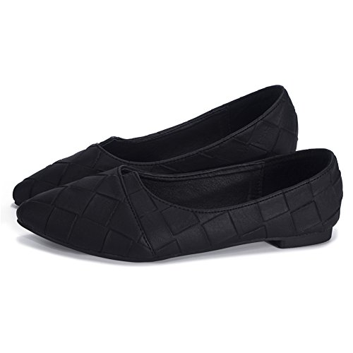 Quilted Toe Flat - 6