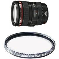 Canon EF 24-105mm f/4 L IS USM Lens for Canon EOS SLR Cameras Filter Bundle