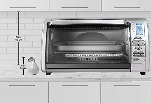 Black Decker Countertop Convection Toaster Oven Silver