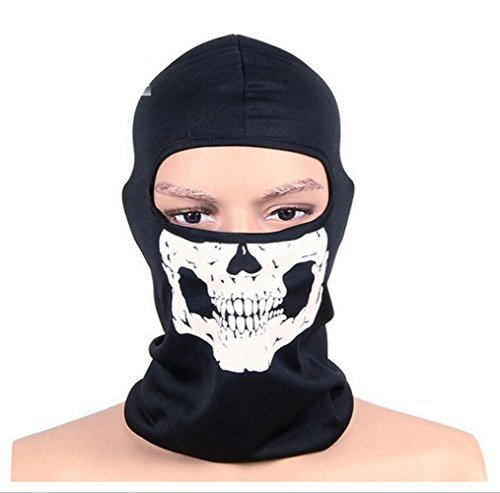 MTSZZF Skull Balaclava for Skiing Motorbike Sports Costumes
