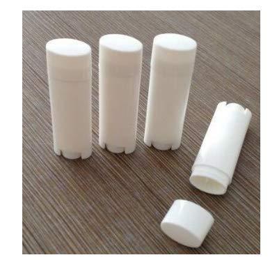 e3415cdf7fb6 Amazon.com: 24PCS 4.5g/0.15oz White Empty Refill Plastic Oval ...