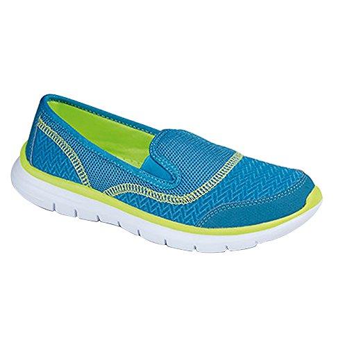 Dek - Zapatillas deportivas con elástico ligeras para mujer Fucsia