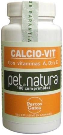 Calcio vitaminado CALCIO-VIT 100 cp. para perros y gatos