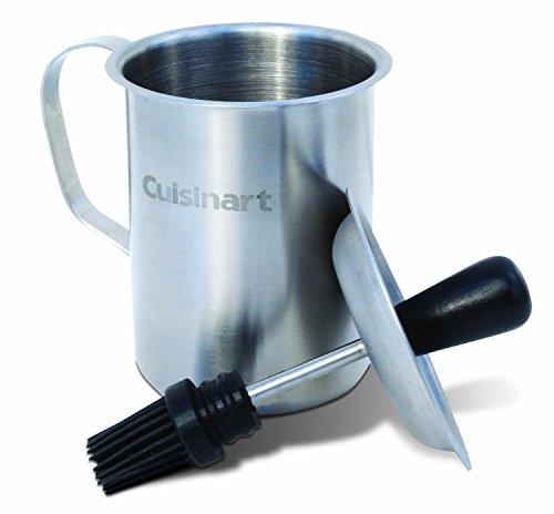 Cuisinart CBP-116 Sauce Pot and Basting Brush Set , Stainless Steel (Renewed)