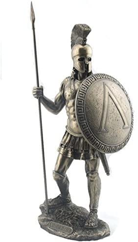Amazon.com: 14.38 Inch Spartan Warrior with Spear and Hoplite ...