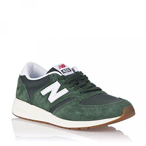 New Balance Hombres Mrl420sv Verde / Blanco