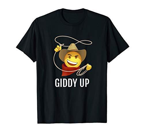 Cowboy Rope Hat Smiley Giddy Up Emoji ()