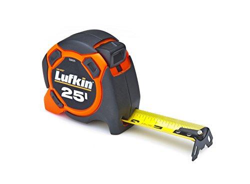 "Lufkin HI-VIZ ORANGE CS8525 1-3/16 ""x2 5ft 800 Series Xtra-Wide Power Tape"