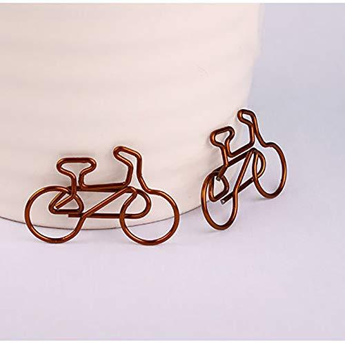 Gold Postkarte Demarkt 12 St/ück B/üroklammer Fahrrad Design Motiv Heftklammern f/ür Dekoration Einladungen Hochzeit Gru/ßkarte