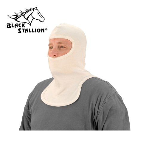 Black Stallion NH400 Nomex Knit Double Layer Sock Hood w/Single Layer