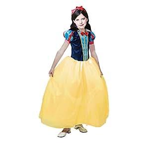 Disfraz de Princesa Blancanieves niña infantil para Carnaval (2-4 años)
