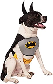 Rubies Costume Co DC Heroes and Villains Collection Pet Costume, Classic Batman, Large