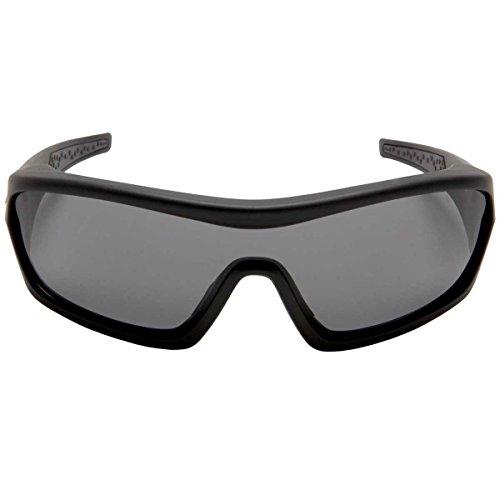 Bobster Enforcer Interchangeable Sunglasses, Matte Blk, 3 Lenses EENF101