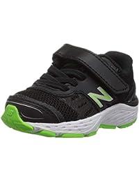 Kids' 680v5 Hook and Loop Running Shoe