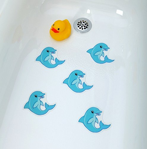 Dolphins Tub Tattoos (5 Pack) - Cute Animal Appliques