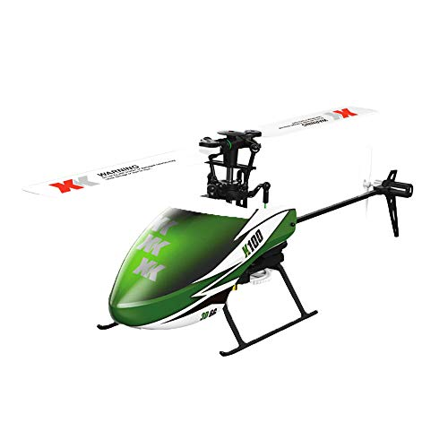 RC Airplane, Sacow XK K100 6CH 3D 6G System RTF RC Helicopter Built-in Gyro Super Stable Flight