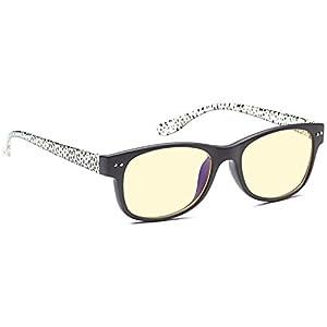 ALTEC VISION Classic Style Optical Quality Glasses Frames Prescription Ready Rx-able Rx Grooved Eyeglasses w Anti UV400 Anti Glare Black Zebra Coated Lens