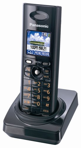 (Panasonic KX-TGA820B DECT 6.0 Cordless Handset for KX-TG8231/8232 Series Telephone Systems)