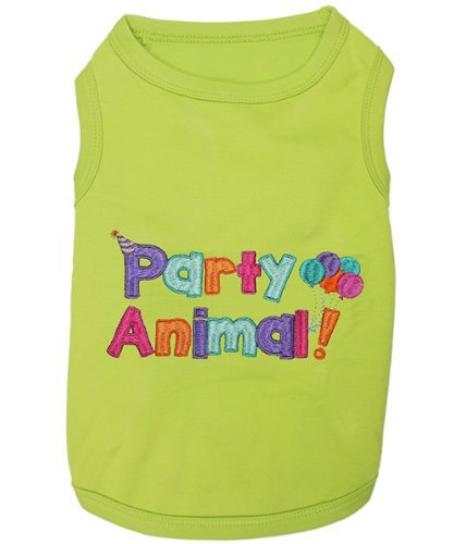 Parisian Pet Party Animal T-Shirt, Large
