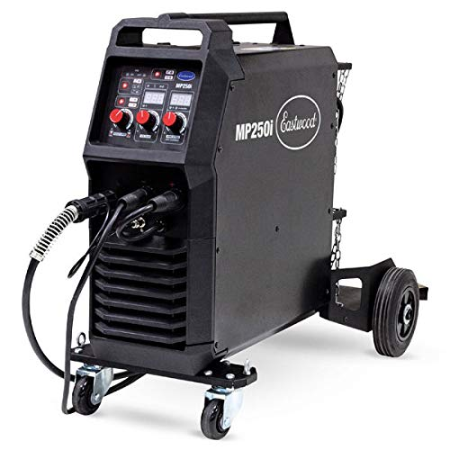 Eastwood MP250I Welder 120/240V MIG TIG Arc/Stick Weld Stainless Normal Steel