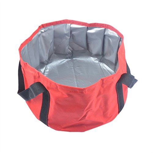 HOOYEE Multifunctional Collapsible Portable Travel Outdoor Wash Basin Folding Bucket for Camping Hiking Travelling Fishing Washing