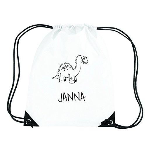 JOllipets JANNA Turnbeutel Sport Tasche PGYM5457 Design: Dinosaurier Dino