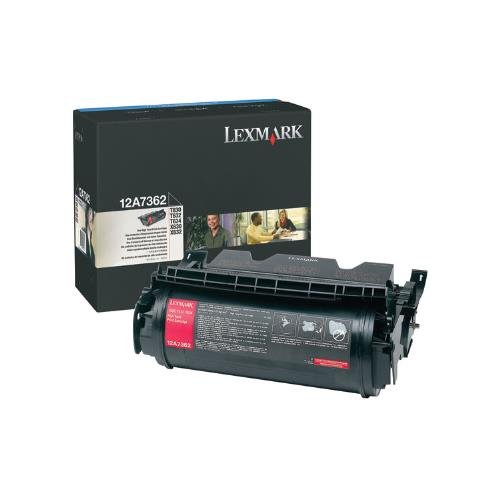 Lexmark 12A7362 OEM Toner - T630 T632 T634 X630 X632 X634 High Yield Toner (21000 Yield) -