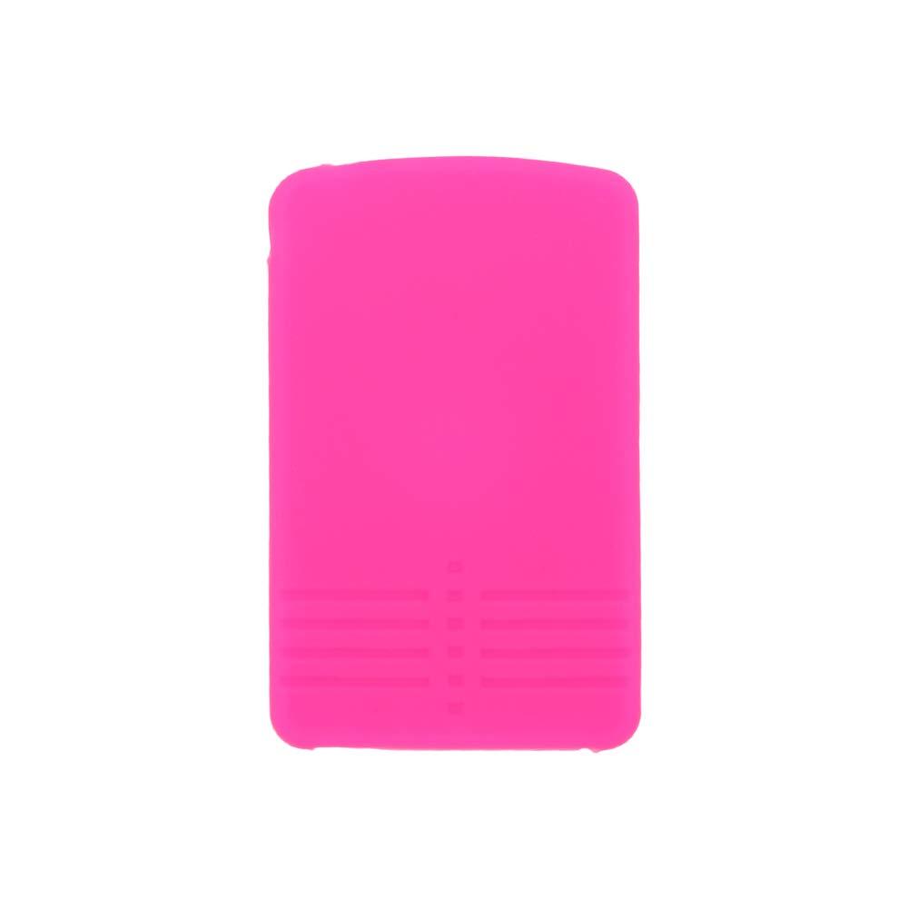 SEGADEN Silicone Cover Protector Case Skin Jacket fit for MAZDA 4 Button Smart Card Remote Key Fob CV4534 Orange