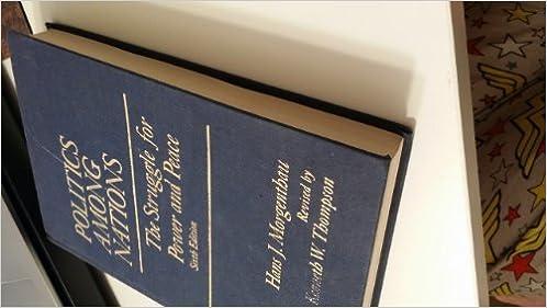Nations among ebook politics download morgenthau