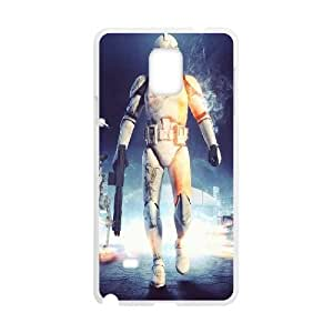 Stormtrooper Series, Samsung Galaxy Note 4 Case, Star Wars Case for Samsung Galaxy Note 4 [White]