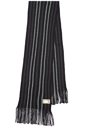 Rio Terra Men's Knitted Scarf, Designer Scarves for Winter Fall Fashion, Silver & Grey by Rio Terra (Image #6)