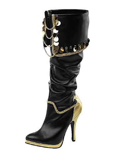 Funtasma - Botas para mujer dorado dorado