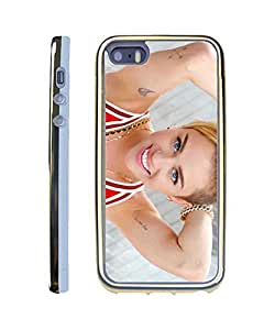 Miley Cyrus Iphone 5 funda,Iphone 5s funda Gold Fashion Style Famous Star Hard Protection Skin For Iphone 5 5s Case