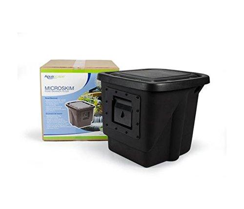 - Aquascape Signature Series Pond Skimmer Filter, 400, Black | 43021
