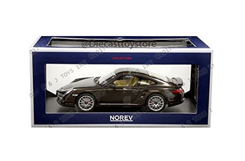 1:18 2010 PORSCHE 911 TURBO 187622 DIECAST BY (911 Turbo)