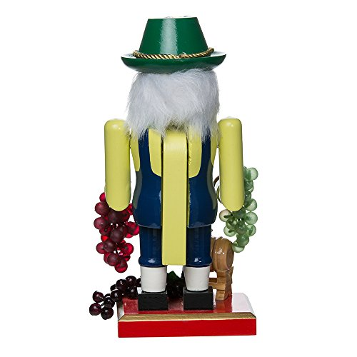 Kurt Adler Wooden Winemaker Nutcracker, 10.25-Inch by Kurt Adler (Image #2)