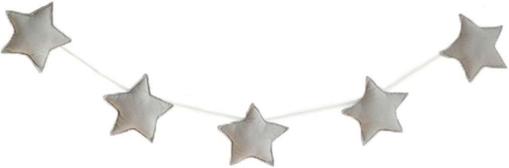 Set del beb/é del Cuarto de ni/ños de Estrellas para ni/ños guirnaldas de Navidad Decoraciones de Pared de la Sala apoyos de la fotograf/ía Los Mejores Regalos Coddtington Sala de 5pcs