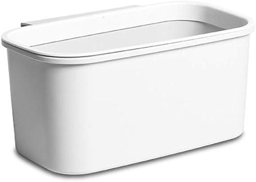 XWYLJT Caja de Almacenamiento Plástico Gabinete de Cocina Puerta Colgante Basura: Amazon.es: Hogar