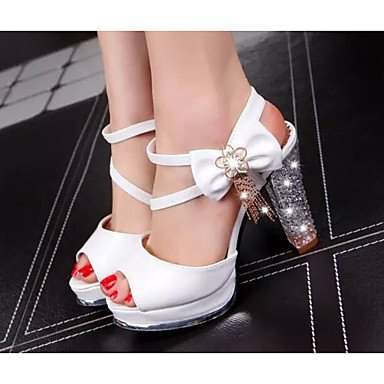 Casual Pump US5 Heels CN34 Leather Comfort Basic 3 Pump Comfort Women'S White 2In UK3 4In Real 2 Basic EU35 Spring 1Ewaxx0