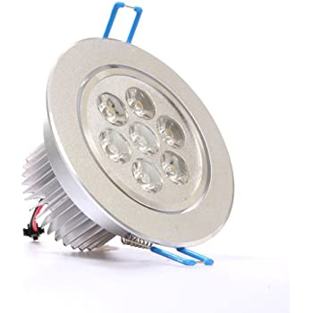 This Item LEDQuant 7W Dimmable CREE Recessed LED Lighting Fixture, Recessed  Downlight, Warm White