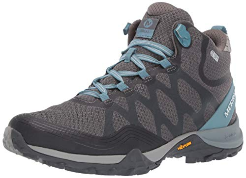 Merrell Women's Siren 3 MID Waterproof Hiking Shoe, Blue Smoke, 09.0 M US
