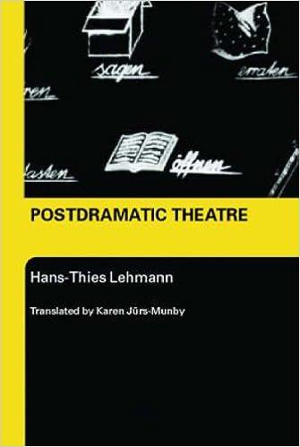 postdramatic theatre hans-thies lehmann