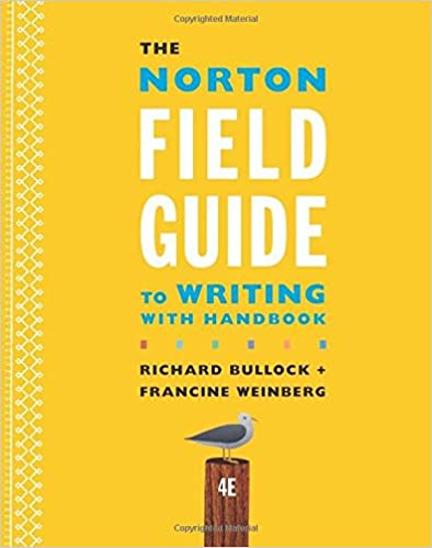 Amazon the norton field guide to writing with handbook fourth amazon the norton field guide to writing with handbook fourth edition 9780393264364 richard bullock maureen daly goggin francine weinberg books fandeluxe Image collections