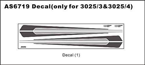 (Thunder Tiger Decal Sheet for Swimmer 3025/3 & 3025/4 AS6719 TRS)