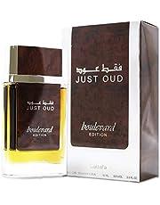 Lattafa Just Oud Boulevard for ,Unisex , 90 ml , Eau de Parfum