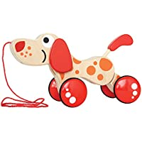Hape Walk-A-Long Puppy Pull Toy