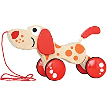 Hape Award Winning Walk-A-Long Puppy Wooden Pull Toy